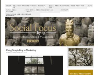 socialfocusbycg.com screenshot