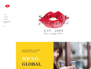 socialglobalgrind.com screenshot