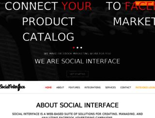 socialinterface.com screenshot