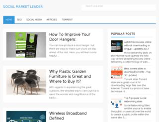 socialmarketleader.com screenshot