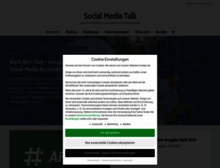 socialmedia-talk.com screenshot