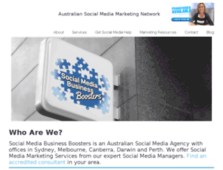 socialmediabusinessboosters.com screenshot