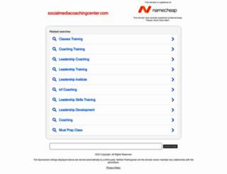 socialmediacoachingcenter.com screenshot