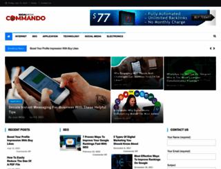 socialmediacommando.com screenshot