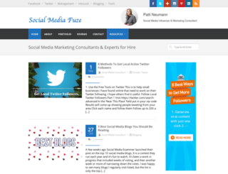 socialmediafuze.com screenshot