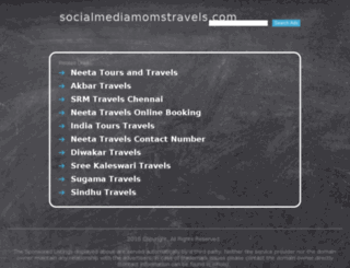 socialmediamomstravels.com screenshot
