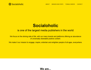 socialoholic.com screenshot