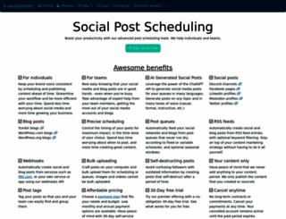 socialoomph.com screenshot