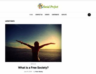 socialprefect.net screenshot