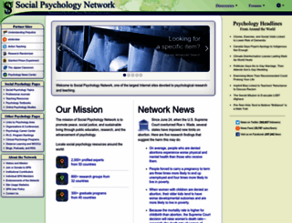 socialpsychology.org screenshot