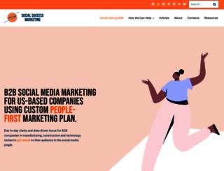 socialsuccessmarketing.com screenshot