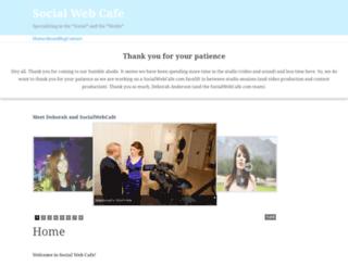 socialwebcafe.com screenshot