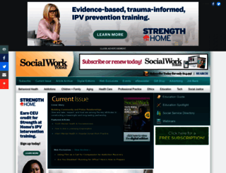 socialworktoday.com screenshot