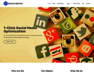 socialyzerhq.com screenshot