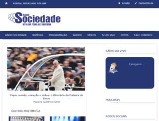 sociedadedefeiraam.com.br screenshot