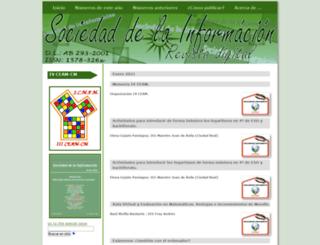 sociedadelainformacion.com screenshot