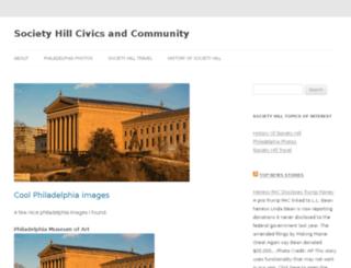 societyhillcivic.com screenshot