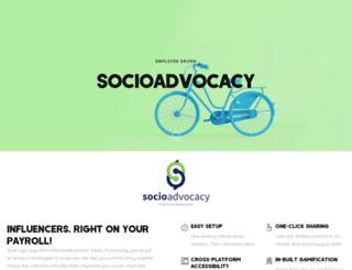 socioadvocacy.com screenshot