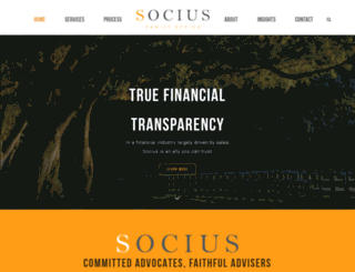 socius.com screenshot