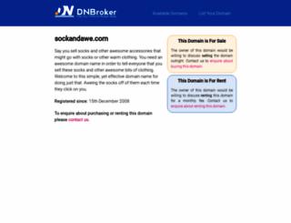 sockandawe.com screenshot