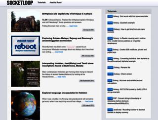 socketloop.com screenshot