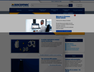 socomec.com screenshot