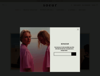 soeur.fr screenshot