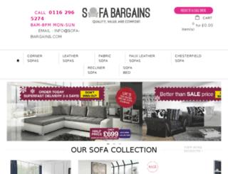 sofa-bargains.com screenshot