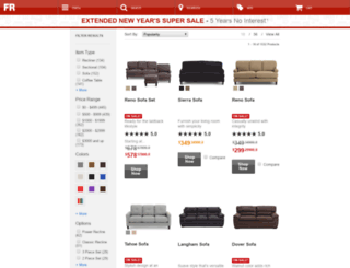Marvelous Sofamart.furniturerow.com Screenshot