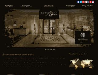 sofitel-legend.com screenshot