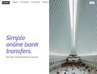 sofort-ueberweisung.de screenshot