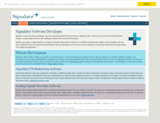 soft.signalator.com screenshot