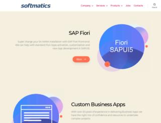 softmatics.com screenshot