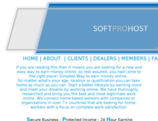 softprohost.us screenshot