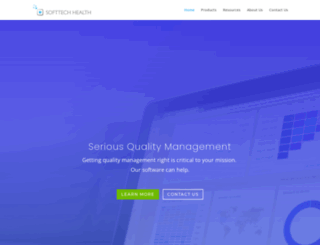 softtechhealth.com screenshot