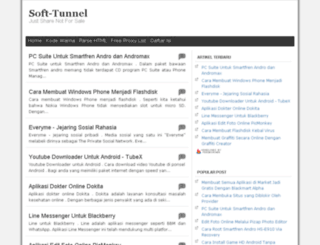 softtunnel.blogspot.com screenshot