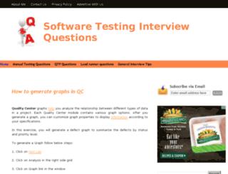 software-testinginterviewquestions.com screenshot