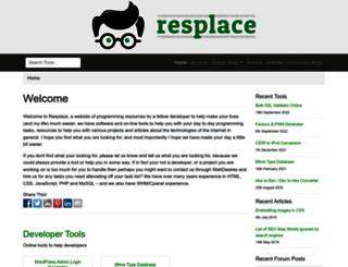 software.resplace.net screenshot