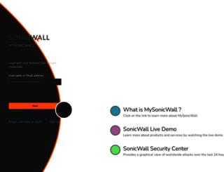 software.sonicwall.com screenshot