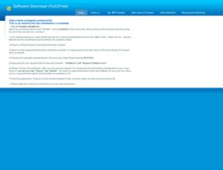 software.weebly.com screenshot