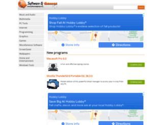 softwareandgames.com screenshot