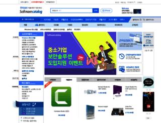 softwarecatalog.co.kr screenshot