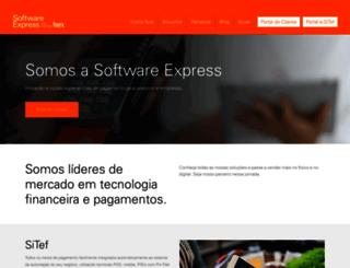 softwareexpress.com.br screenshot