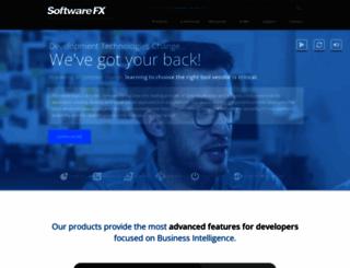 softwarefx.com screenshot