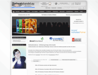 softwarehandel.eu screenshot