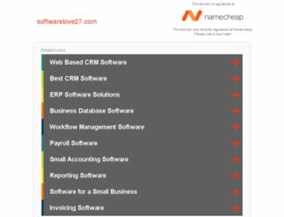 softwarelove27.com screenshot