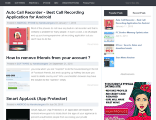 softwarenews.in screenshot