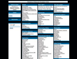 softwarezoeken.allepaginas.nl screenshot