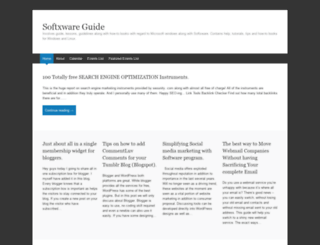softxwareguide.wordpress.com screenshot