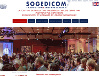 sogedicom-conferences.com screenshot